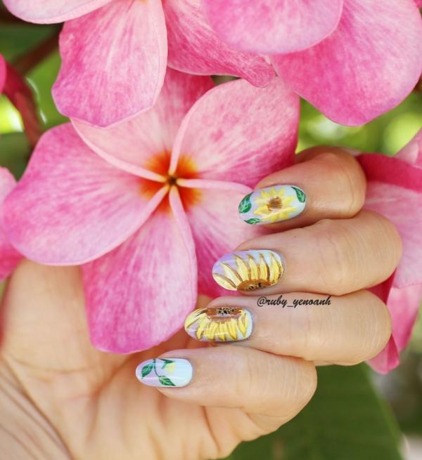 idei manikiur dizain nokti cvetq slanchogledi jalto