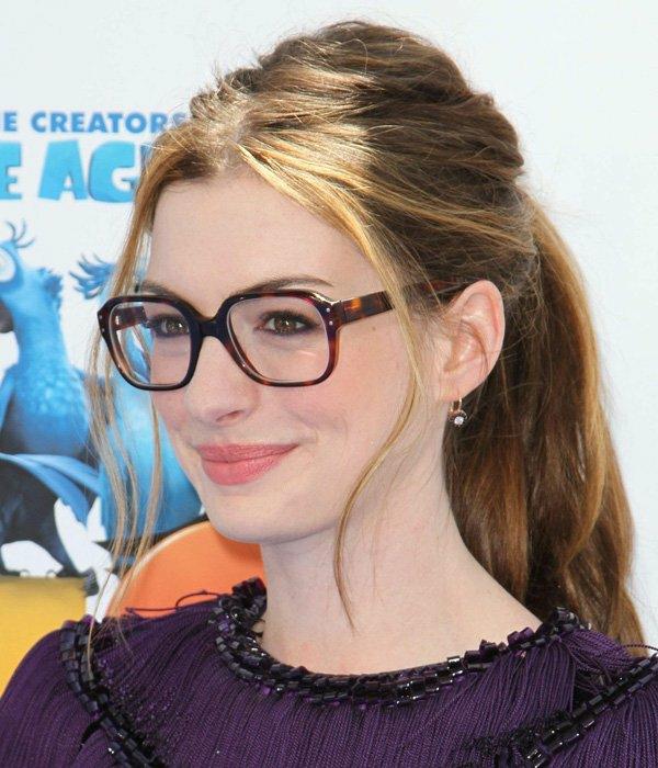 грим за дами очила спирала ан хатауей