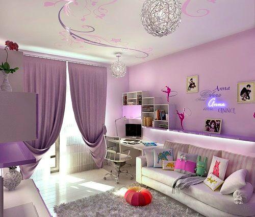 Интериорен дизайн в детска стая с впечатляващ таван