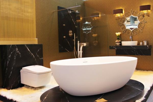 interior dizain banq luksozen stil obzavejdane vana cherno veneciansko staklo