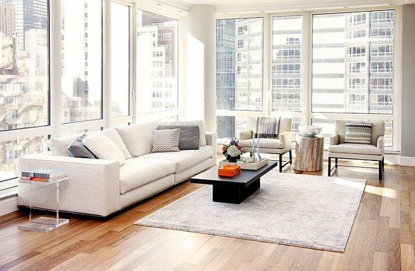 interior hol dizain stil minimalistichen divan bqlo