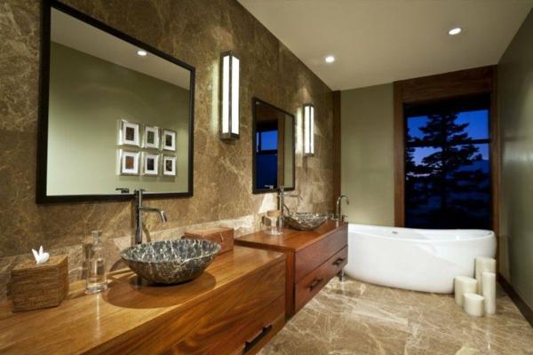 interioren dizain banq obzavejdane bejovo darvo luksozen stil