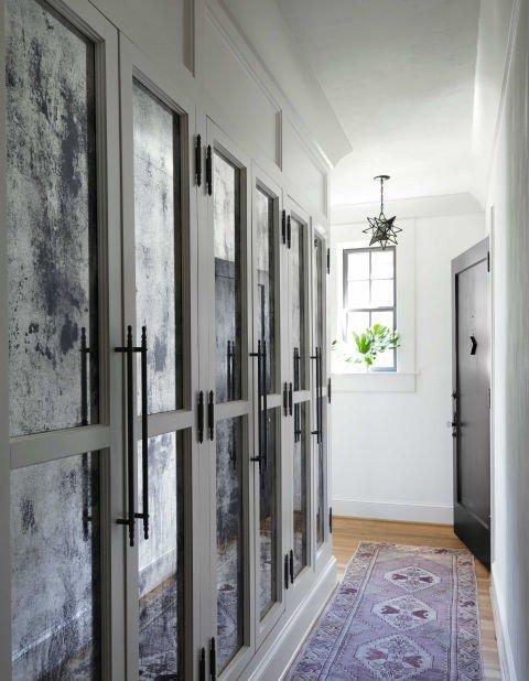 koridor dizain idei shkafove interior obzavejdane garderob