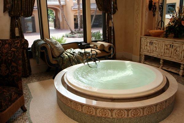 kragli vani vintidj stil banq interior mozaika