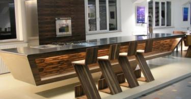 Стилен бар в кухнята