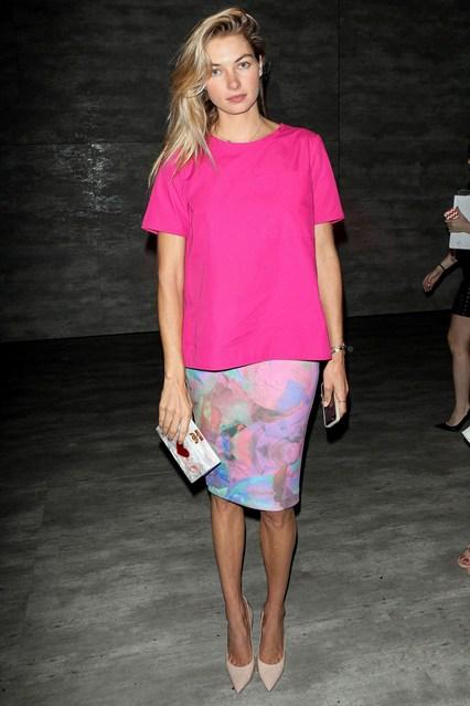 letni vizii stil rozovo pastel