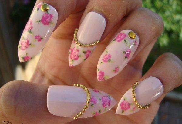 manikiur idei prolet rozovo cvetq