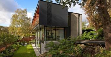 Модерен дом с дъх на футуризъм