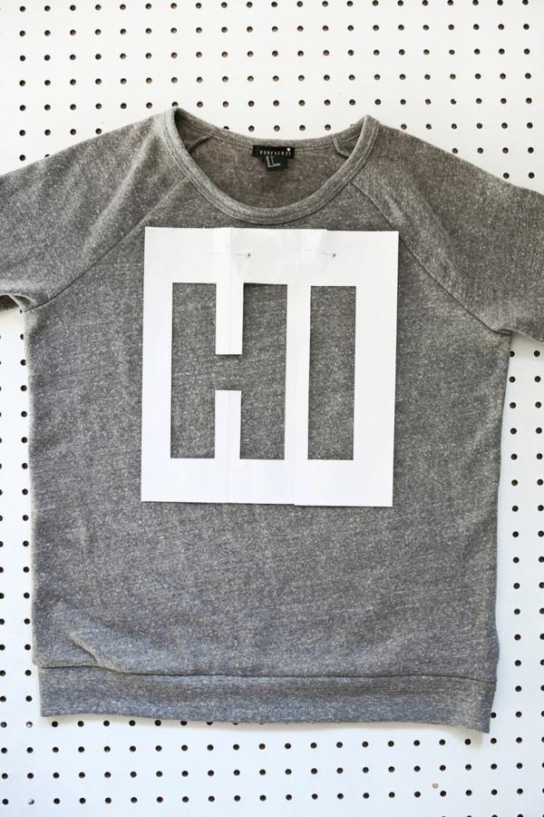 napravi si sam dekoraciq bluza shablon nadpis