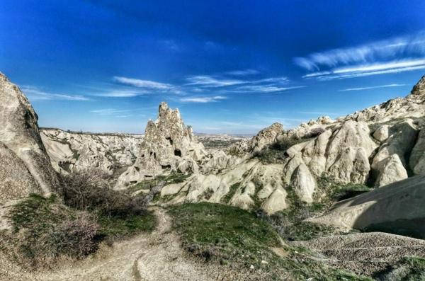 peizajna fotografiq kapadokiq turciq skali