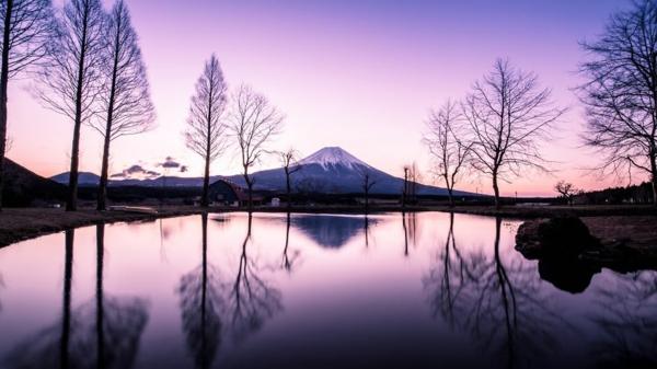 fotografiq peizajna planina darveta ezero