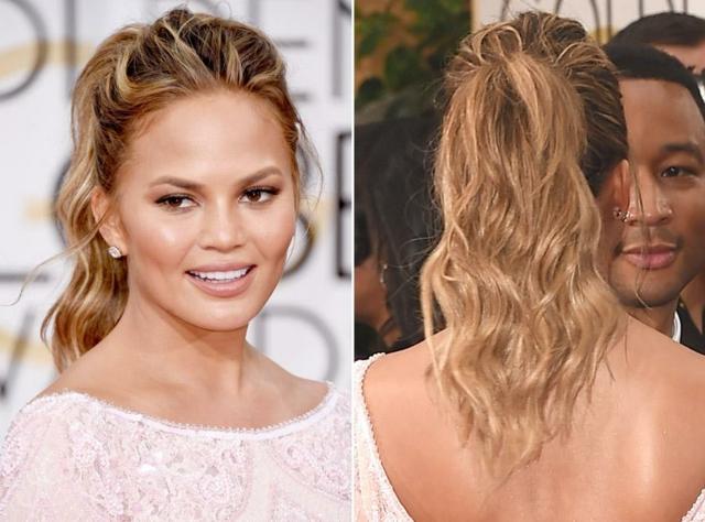 прически с вързана коса за лятото