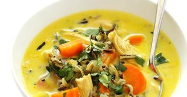 recepta pileshka supa kari div oriz
