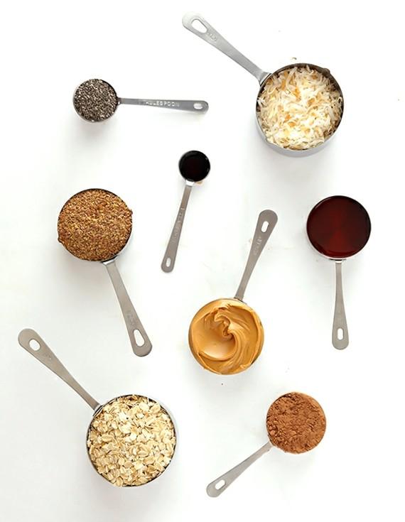 recepta shokolad topki fastacheno maslo produkti
