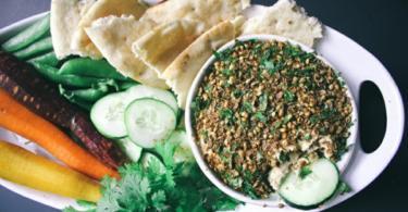 recepta vegan humus koriandar
