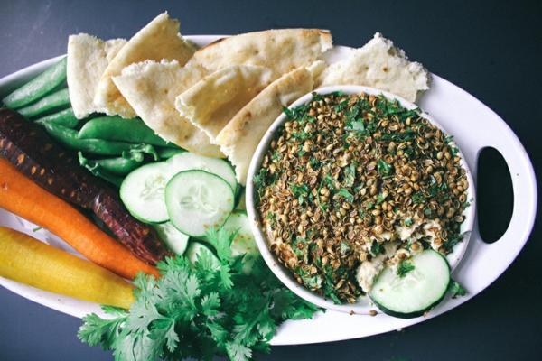 vegan recepta za humus