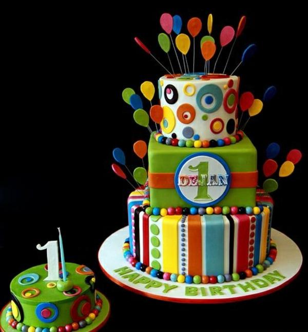 торти за малките момчета на една година