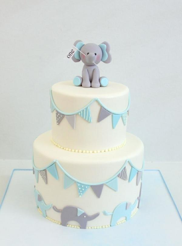 торти-за-малките-момчета-на-една-година-слон
