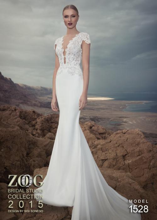 сватбени рокли 2015 с дантела