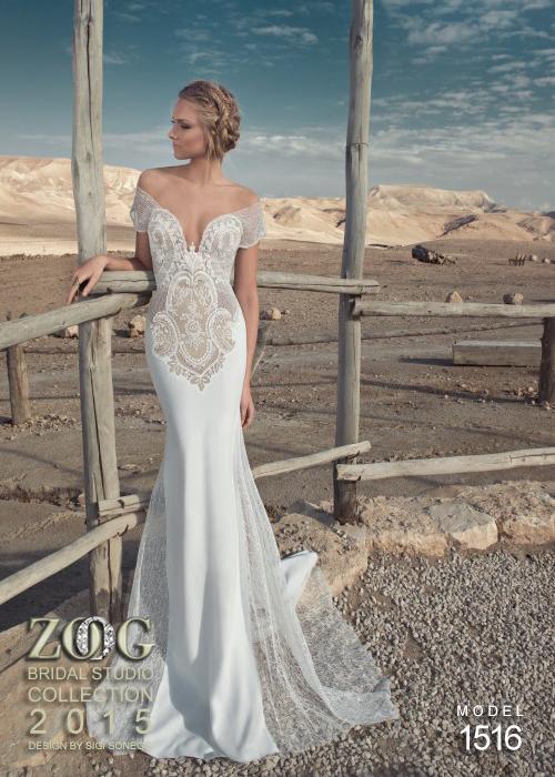 сватбени рокли с дантела 2015