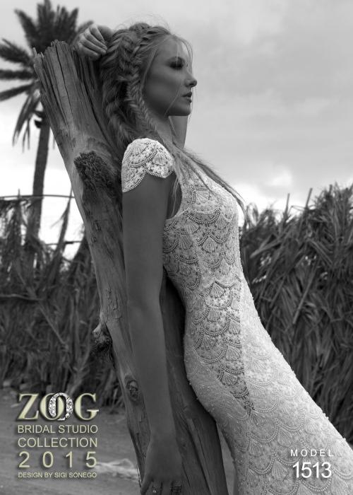 сватбени рокли с къс ръкав 2015
