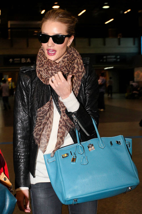 chanta birkin Rosie Huntington-Whiteley