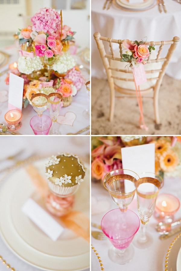 svatba dekoraciq idei cvetq rozovo bqlo