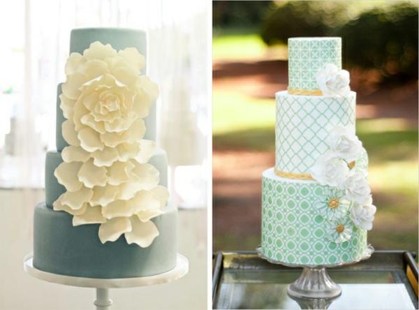 сватбени торти 2015 идеи с цветя