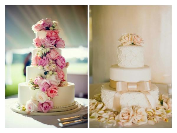сватбени торти 2015 с рози