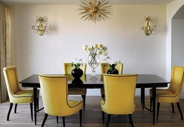 interior dom loran konrad obzavejdane trapezariq bqla jalti stolove polilei metal
