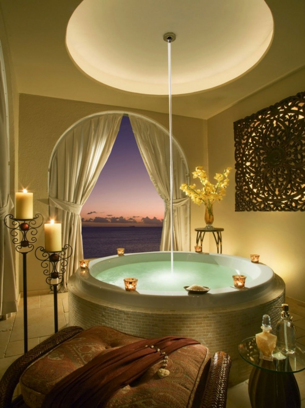 vana kragla luksozen stil mozaika interior banq