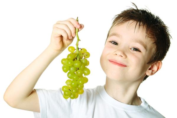zdravoslovno hranene dete plod grozde