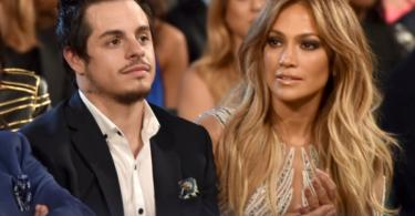 Jennifer Lopez Casper Smart 2015 Billboard Music Awards