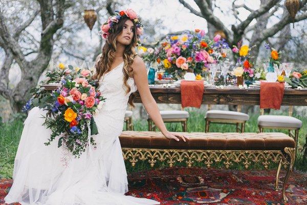 bulka ideq bohemska svatba gradina