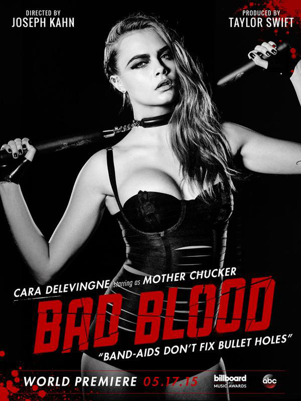 cara delevingne bad blood video