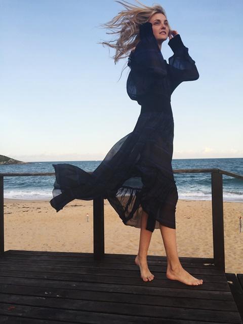 cherna roklq za plaja