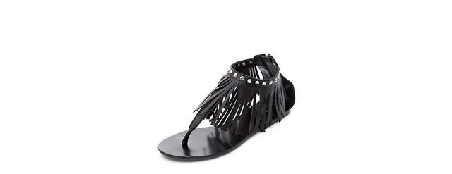 cherni sandali resni