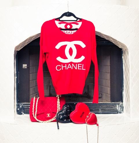 chervena bluza chanel