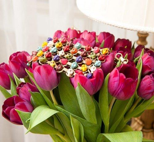 cvetno kolie cherepi