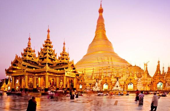 pagoda burma destinacii turizam аtrakcii