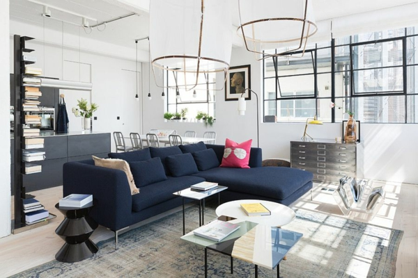 dizain interior hol sinio bqlo tendencii skandinavski stil
