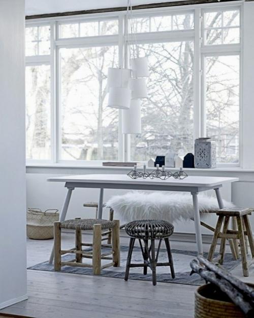 dizain tendencii interior trapezariq skandinavski stiil stolove