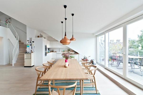 dizain trapezariq interior skandinavski stil