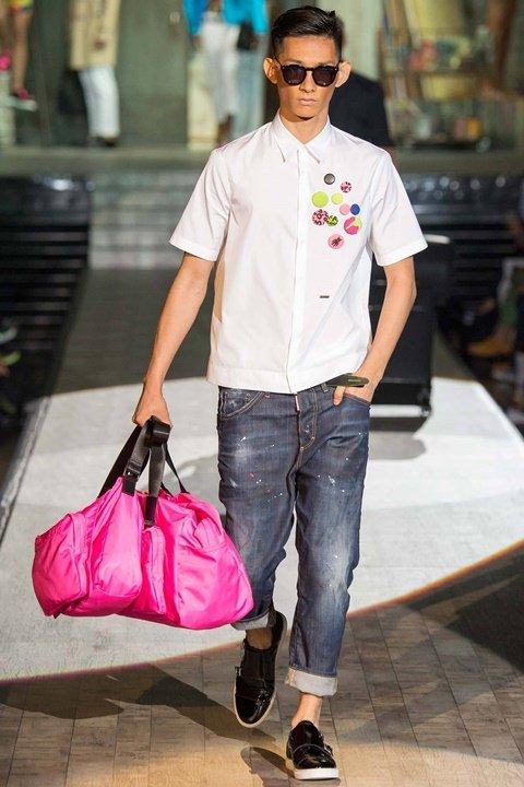 dsquared majka moda prolet 2015