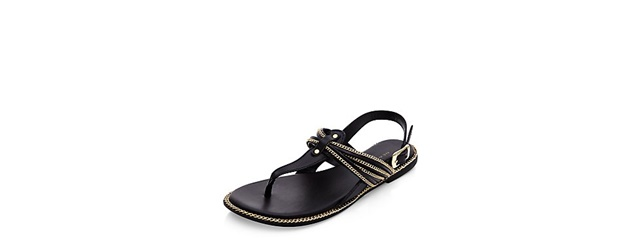 ejednevni cherni sandali