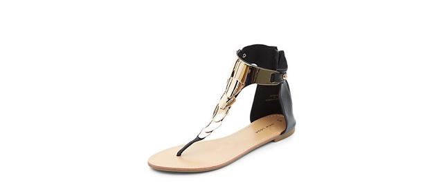 ejednevni sandali zlatisto