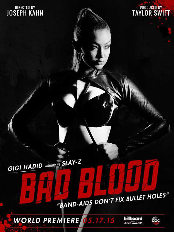 gigi hadid bad blood video