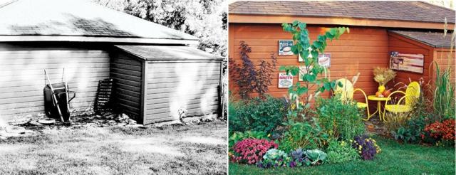 преобразяване на градината