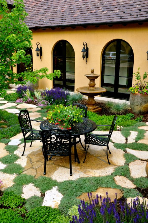 градински мебели от ковано желязо