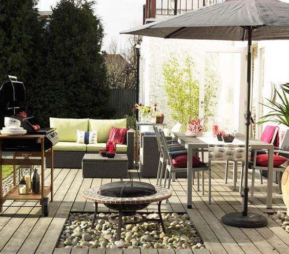 идеи за декорация на градината